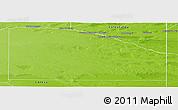 Physical Panoramic Map of Pichi Mahuida