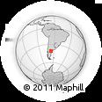 Outline Map of Valcheta
