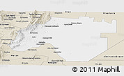 Classic Style Panoramic Map of Anta