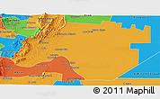 Political Panoramic Map of Anta