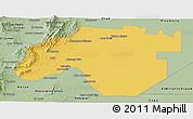 Savanna Style Panoramic Map of Anta