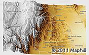 Physical 3D Map of Caldera