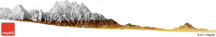 Physical Horizon Map of Caldera