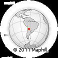 Outline Map of Caldera