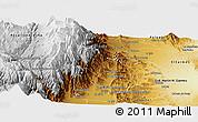 Physical Panoramic Map of Caldera