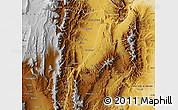 Physical Map of La Vina