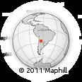 Outline Map of La Vina