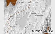 Physical Map of Los Andes