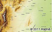 Physical Map of Metan