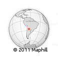 Outline Map of Metan