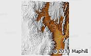 Physical 3D Map of San Carlos