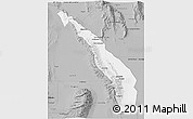 Gray 3D Map of Valle Fertil