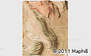 Satellite 3D Map of Valle Fertil