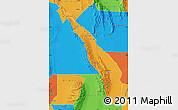 Political Map of Valle Fertil
