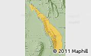 Savanna Style Map of Valle Fertil