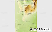 Physical 3D Map of San Luis