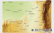 Physical 3D Map of Junin