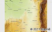 Physical Map of Junin