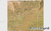 Satellite Panoramic Map of San Luis