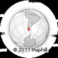 Outline Map of Santa Cruz