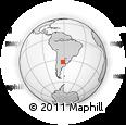 Outline Map of Belgrano