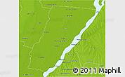 Physical 3D Map of Garay
