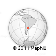 Outline Map of General Lopez