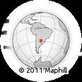 Outline Map of General Obligado