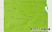 Physical 3D Map of Iriondo