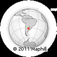 Outline Map of Iriondo