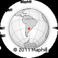 Outline Map of La Capital