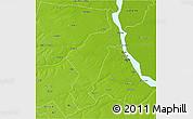Physical 3D Map of San Lorenzo