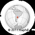 Outline Map of San Lorenzo
