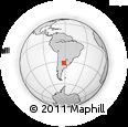 Outline Map of San Martin