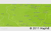 Physical Panoramic Map of San Martin
