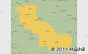 Savanna Style Map of Aguirre