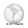 Outline Map of Aguirre