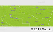 Physical Panoramic Map of Aguirre