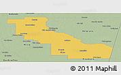 Savanna Style Panoramic Map of Aguirre