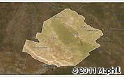 Satellite 3D Map of Atamisqui, darken