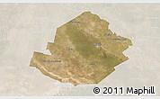 Satellite 3D Map of Atamisqui, lighten
