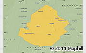 Savanna Style Map of Atamisqui