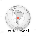 Outline Map of Atamisqui
