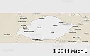 Classic Style Panoramic Map of Atamisqui