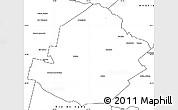 Blank Simple Map of Atamisqui