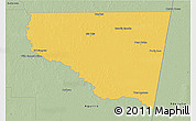 Savanna Style 3D Map of Belgrano