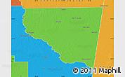 Political Map of Belgrano