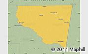 Savanna Style Map of Belgrano