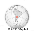 Outline Map of Belgrano