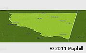 Physical Panoramic Map of Belgrano, darken